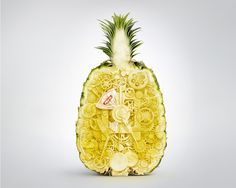 The Print Ad titled Pineapple was done by Bangkok Showcase advertising agency for product: Hero ziplock (brand: Hero) in Thailand. Creative Advertising, Print Advertising, Advertising Campaign, Print Ads, Art Carved, Still Photography, Ad Design, Design Posters, Event Posters