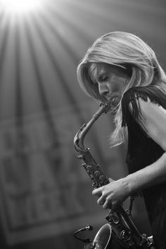 Candy Dulfer photographed by me at Leidse Jazzweek 2009 in Holiday Inn