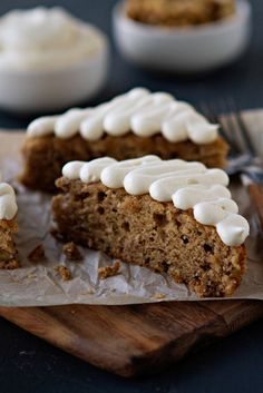 Banana Bars with Cream Cheese Frosting - @Jamie Wise Wise {My Baking Addiction}