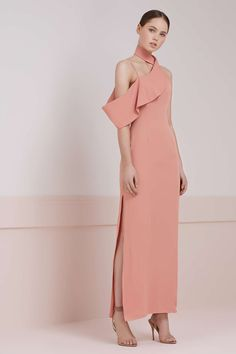 Option E) LAIKA MAXI DRESS dusk