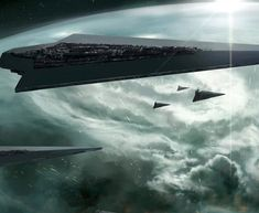 Orbital bombardment. What would be your first reaction if you were on the planet?  #Art by: Kai Lim -