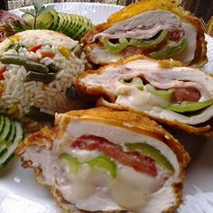 Hungarian Recipes, Hungarian Food, Caprese Salad, Sushi, Chicken Recipes, Sandwiches, Food Porn, Pork, Food And Drink