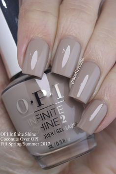 spring nail colors OPI Island Kollektion Herbst / Winter 2017 How Opi Gel Nails, Opi Nail Colors, Spring Nail Colors, Spring Nails, Summer Colors, Fall Nails, Summer Toenails, Trendy Nails, Cute Nails