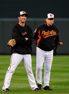 J.J. Hardy and Buck Showalter - Who should be Manager of the Year!!!