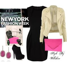"""""""NEW YORK FASHION WEEK"""" by wiltshirestyle on Polyvore"""
