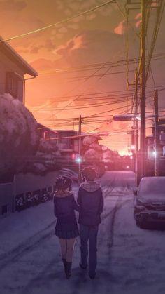 Mitsuha and Taki - Your Name / Kimi no na wa Otaku Anime, Manga Anime, Mitsuha And Taki, Image Couple, The Garden Of Words, Your Name Anime, Graphisches Design, Film D'animation, Image Manga