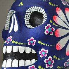Day of the Dead skull - Mexico.