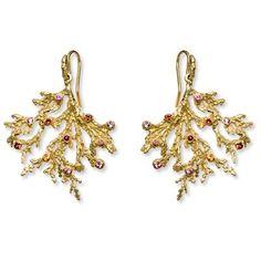 Kimberlin Brown Coral Reef Earrings