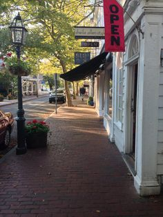 Edgartown, Martha's Vineyard.  The most charming and beautiful street I have ever been on.