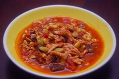 Tomatoes on the Vine: Fix and Freeze Soup-Chicken and Brisket Brunswick Stew