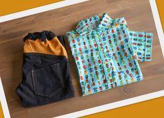 jakoebies jongensbroek en hemd maat 152