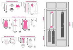 sizes-dimensions-wardrobe-1 - Architecture Admirers