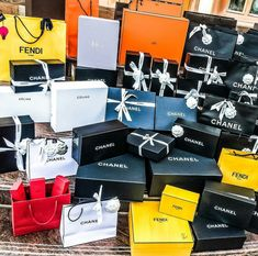 chanel valentino fendi dior hermes prada box bag luxury shopping louis vuitton