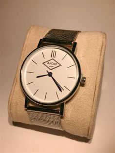 ANGELO has a stylish but rough look, the silver case look with the silver stainless steel strap makes the watch more of a one piece. ANGELO has blue hands and. Opportunity, Watches, Stylish, Blue, Stuff To Buy, Accessories, Fashion, Moda, Wristwatches