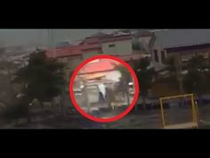 During Japan Tsunami a strange creature was caught on camera - real footage - YouTube