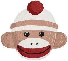 Sock Monkey Rug Item CG2486