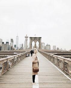 Brooklyn bridge, NYC @mandinelson_