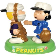 Westland Giftware Peanuts Magnetic Schroeder and Lucy Baseball in Tray Salt and Pepper Shaker Set, 4-1/4-Inch by Westland Giftware, http://www.amazon.com/dp/B004MFIQHS/ref=cm_sw_r_pi_dp_ICsurb1YYG6Y1
