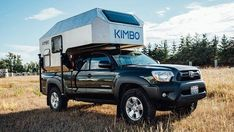 Kimbo adventure camper turns your pickup into a fire-warmed, aluminum-skinned ski cabin on wheels Best Truck Camper, Pickup Camper, Truck Camping, Pickup Trucks, Short Bed Truck Camper, Tent Camping, Toyota Hilux, Toyota Tacoma, Pick Up