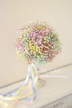 Pastel Bouquet, Dried Flower Bouquet, Flower Bouquet Wedding, Bridesmaid Bouquet, Boquette Flowers, Bride Flowers, Beautiful Flowers, Bonsai Plante, Calla