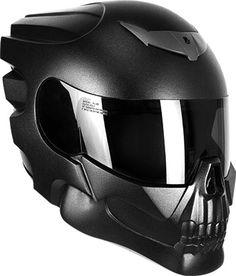 Le casque NLO Skull Rider opte pour le look « tête de mort »