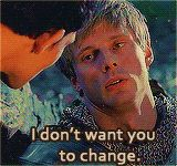 """""""I want you to always be *you*"""" (gif)"""