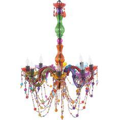 Chandelier Multicolored (@highfashionhome)