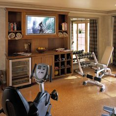 Home Gym Design Ideas, Pictures, Remodel, and Decor - page 2