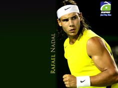 Rafa Nadal....I LOVE his arms...and the body...he's got a sweet soul too (from what I've read)
