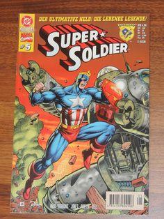 DC gegen Marvel #5 Super Soldier Amalgam Comics (Dino Comics)