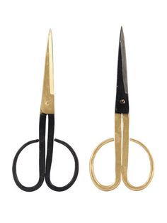 Gold and black scissors | Papermash
