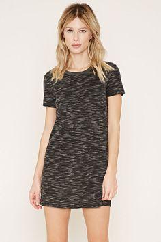 Space Dye T-Shirt Dress