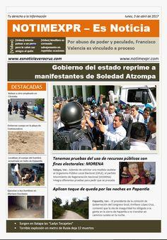 La Información más destacada con NOTIMEXPR – Es Noticia. martes, 4 de abril de 2017 - http://www.esnoticiaveracruz.com/la-informacion-mas-destacada-con-notimexpr-es-noticia-martes-4-de-abril-de-2017/