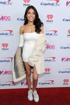 72c9ad8857a Madison Beer at Z100 s iHeartRadio Jingle Ball in New York! (December 9th