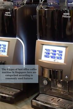 Bean to Cup Coffee Machines Coffee Brewer with a water tank Touch Screen Office Coffee Machine Coffee Makers with Multiple brewing options Best Coffee Brewer, Best Coffee Maker, Drip Coffee Maker, Espresso Coffee, Coffee Art, My Coffee Shop, Automatic Espresso Machine, Coffee Equipment, Coffee Service