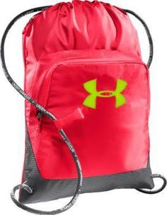 fd9fc7438f Under Armour Exeter Sackpack - Neo Pulse Graphite Hyper Green. Crate for  girls and women