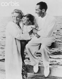 Nazi Propaganda Minister Joseph Goebbels with His Family - U315847ACME - Rights Managed - Stock Photo - Corbis. Original caption:Reich's propaganda minister on holiday. This exclusive photo shows Dr. Paul [Joseph] Goebbels, German propaganda minister with his wife and daughter, Helga, at Heiligendamm, by the Baltic Sea, where they are vacationing. August 16, 1935