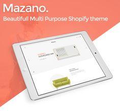 Shopify Theme and App development: Mazano - Ultimate Responsive Shopify Theme