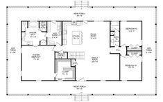 Rectangle House Plans, Square House Plans, Metal House Plans, Pole Barn House Plans, House Plans One Story, Shop House Plans, Ranch House Plans, Best House Plans, Country House Plans