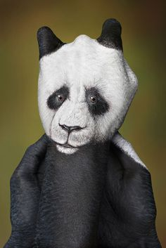 Hands Animals by Guido Daniele