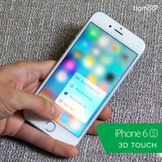 #iphone6S introduces #3DTouch feature which senses how deeply you press the display. With 3D Touch you can do the things that were never possible before. Order Now on special #saleprice of ZMW 8999 at #Tigmoo, quick delivery with #freeshipping: https://www.tigmoo.com/apple-iphone-6s-64gb-grey.html