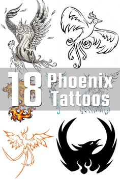 18 Phoenix Tattoo Designs | The Body is a Canvas