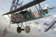 Fokker D.VIIs v. Camels