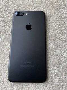 7 Plus Black, Black Iphone 7 Plus, Iphone 8 Plus, New Iphone, Iphone Phone Cases, Iphone Case Covers, Apple Iphone, Telephone Smartphone, Simple Mobile