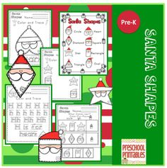 Learn shapes with Santa!