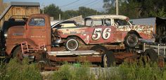 The last race, I would love to own this whole set up!!! No repainting just make them run and drive it!