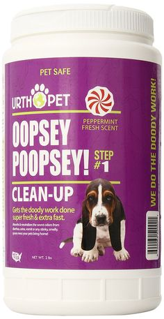UrthPet Oopsey Poopsey Super Absorber Pet Clean-up, 32-Ounce >>> Be sure to check out this awesome product. (This is an affiliate link and I receive a commission for the sales)