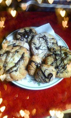 lericettediziasara: bomboloni al cioccolato( doughnut with chocolate)