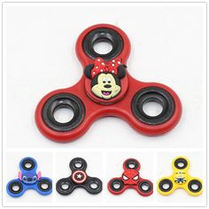 New Arrial 2017 Fidget Spinner Iron Man Cute Cartoon Super Man Pikachu Hand Spinner For Kid Gifts Anti Stress 11 Style Choose Hand Spinner, Tri Spinner, Anti Stress, Adult Children, Classic Toys, Puzzles, Fidget Spinners, Children Toys, Cubes
