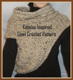 Katniss Inspired Cowl - via @Craftsy Been seeing these online everywhere, I like the uniqueness of them